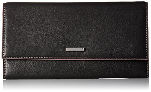 Lodis Women's Mill Valley Under Lock & Key Cami Clutch Wallet Blk, Black, One Size