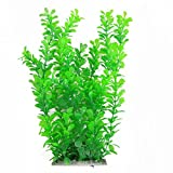 "uxcell 12"" Green Water Plastic Plant Decoration for Aquarium"