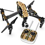 Skin For DJI Inspire 1 Quadcopter Drone – Desert Stripes | MightySkins Protective, Durable, and Unique Vinyl Decal wrap cover | Easy To Apply, Remove, and Change Styles | Made in the USA