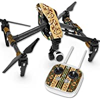 MightySkins Skin For DJI Inspire 1 Quadcopter Drone – Desert Stripes Protective, Durable, and Unique Vinyl Decal wrap cover   Easy To Apply, Remove, and Change Styles   Made in the USA