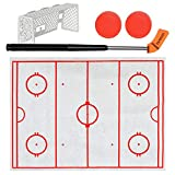 Toilet Hockey Game Toys,Leegoal Ice-Hockey Toy Decompression Fun Game Stress Anxiety Relief Toy Gift for Kids Adults