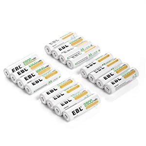EBL® AA AAA Ni-MH Rechargeable Batteries / Charger