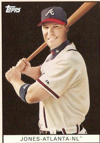 2008 Topps Trading Card History # TCH31 Chippers Jones - Atlanta Braves - MLB Baseball Trading (Braves Mlb Baseball Cards)