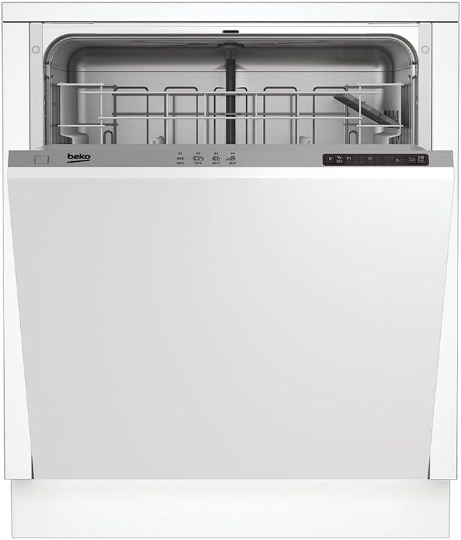 Beko DIN14210 Totalmente integrado 12cubiertos A+ lavavajilla ...