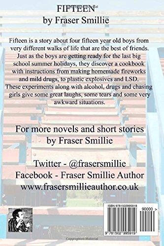 Fifteen When Boys Become Men Amazon Co Uk Smillie Mr Fraser 9781502995919 Books