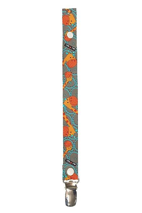 Tris&Ton cadena de chupete clip para bebé, niños y niñas, cinta ...