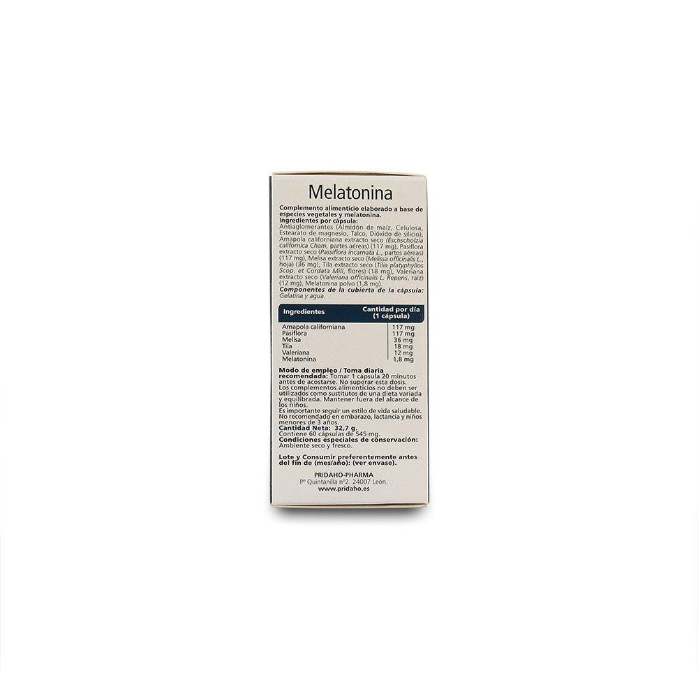 Sanon Melatonina - 2 Paquetes de 60 Cápsulas: Amazon.es: Salud y ...