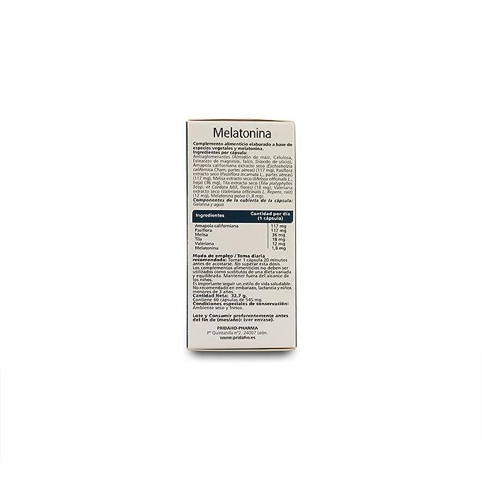 Sanon Melatonina - 2 Paquetes de 60 Cápsulas: Amazon.es: Salud y cuidado personal