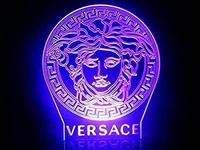 Decoration Medusa Versace Lamp Led Night Light Table Lamp