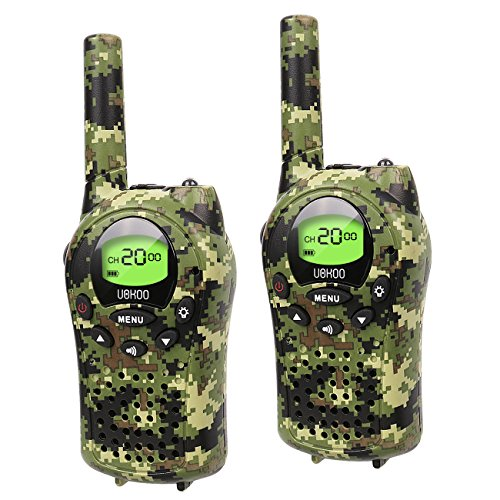 Kids Walkie Talkies, UOKOO Walkie Talkies for Kids 22 Channel FRS/GMRS Two Way Radio Up to 3KM UHF...