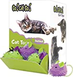 090052 Go Cat go Mini Hairy Mouse Bulk Display , 48Piece