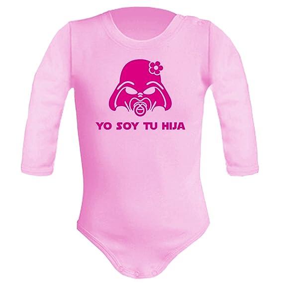 Body bebé unisex Yo soy tu hija (Star wars/Darth Vader - Yo soy tu padre - parodia). Regalo original. Body friki. Manga larga.: Amazon.es: Ropa y accesorios