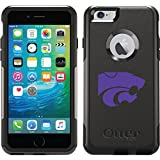 Kansas State Wildcat Mark design on Black OtterBox Commuter Series Case for iPhone 6 Plus and iPhone 6s Plus