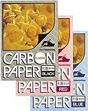 カーボン紙 片面筆記 10枚入【青】 PCPP100L