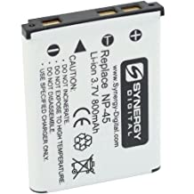 Fujifilm FinePix XP80 Digital Camera Battery Lithium-Ion (800 mAh) - Replacement for Fuji NP-45, NP-45A Battery