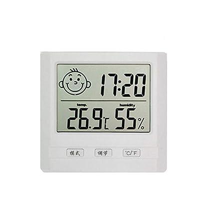 kati-way Thermomètre Intérieur Bébé Chambre, Thermo-hygromètre Affiche  Electronique Interieur pour l\'affichage de Température et Humidité pour  Enfant ...