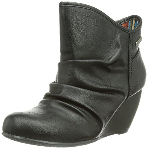 Blowfish Billit - Botas de sintético mujer Negro - Schwarz (blk old saddle)