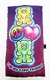 I Love My Camp Autograph Friends Gummy Bear Pillow