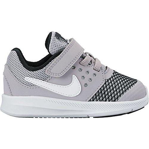 (New Nike Baby Boy's Downshifter 7 Athletic Shoe Grey/White/Black 10)