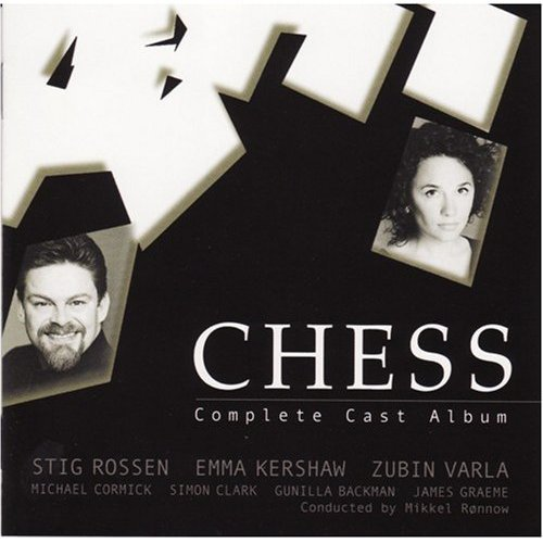2001 Chess - Chess - Original Denmark Tour Cast 2001 (sung in English)