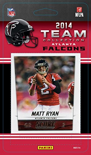 Atlanta Falcons 2014 Score NFL Factory Sealed 11 Card Team Set Including Matt Ryan, Julio Jones, Rookie Cards Plus (Atlanta Falcons Mint Nfl Card)