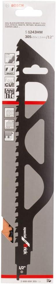 Bosch 2608650355 Brick 1//2 UniShank S1243TC
