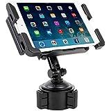 Satechi SCH-121 Cup Holder Mount for Smartphones & Tablets: iPad, Mini/Air, Droid Razr HD, Maxx, Samsung Galaxy Tab, One X, iPhone 6 Plus, 6, 5S, 5C, 5, Note 3, Nexus 5, S, Galaxy S6 Edge, S6, S5