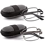 DOUBLETAKE Reading Glasses - 2 Pairs Readers with