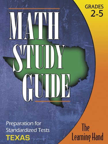 Read Online Math Study Guide, Texas Standardized Tests pdf