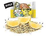 Bobo's Oat Bites, Lemon Poppyseed, 1.3 oz Bites (30 Pack Box), Gluten Free Whole Grain Snack, Vegan On-The-Go