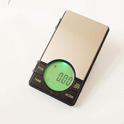 LLRDIAN Mini Joyas de precisión SC Escala de Oro gram Gramo de té en Miniatura ·