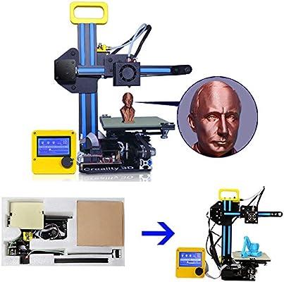Impresora 3D CCOWAY CR-7, impresora de extrusión única 130*150*100 ...
