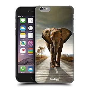 Case Cleveland Cavaliers's Shop Discount Head Case Designs Elephant Walking On The Road Wildlife Protective Snap-on Hard Back Case Cover for Apple iPhone 6 Plus 5.5 3676519M82860989