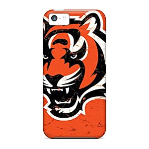 Awesome FHZ4820lpoV Justcases Defender Tpu Hard Case Cover For Iphone 5c- Cincinnati Bengals