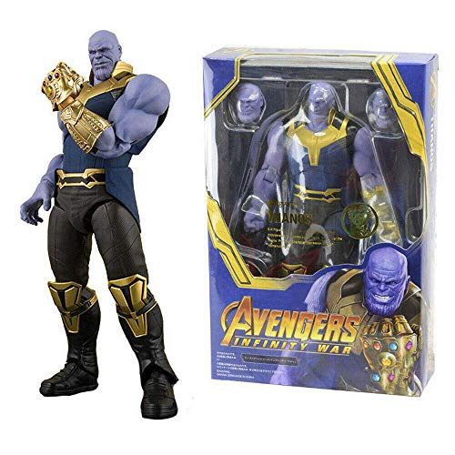 GOODKSSOP Joint Flexible Movable The Avengers Infinity War Super Hero Thanos Classic Character Action Figure Model Toy Xmas Gift