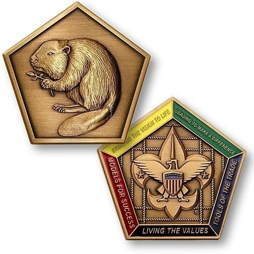 Beaver Wood Badge Medallion