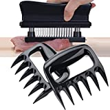 APURSUE Meat Tenderizer + Meat Pork Shredder Claws, 48 Stainless Steel Needle Blade Tenderizer for Tenderizing Steak Beef Pork + Shredding Claws BBQ Barbecue Tools Forks Bear Claws Meat Carving Forks