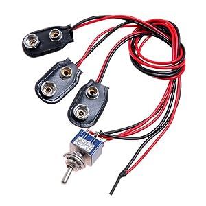51s4Ksyc13L._SY300_ amazon com kmise a1928 1 piece 18 volt mod guitar harness for emg 9v wire harness for treadlock gun safe at pacquiaovsvargaslive.co
