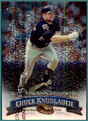 1998 Finest #110 Chuck Knoblauch MINNESOTA TWINS