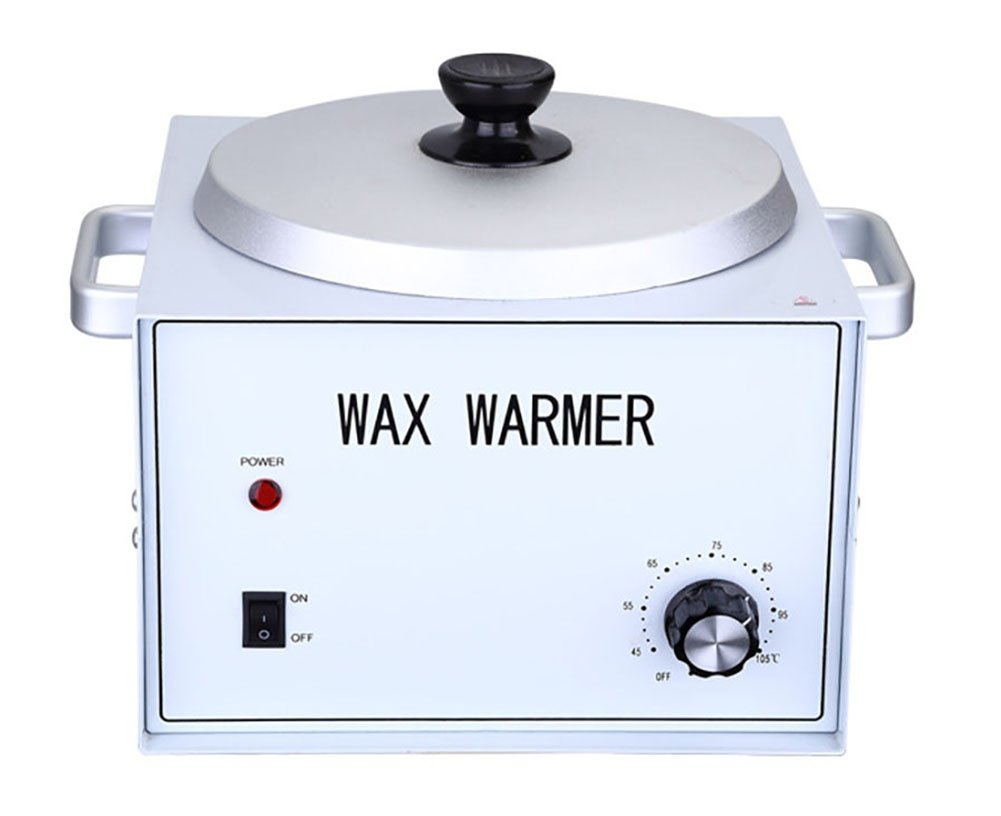 Depilatory Heater Wax Warmer Single Pot Fast Melt Professional Heater Hair Removal for All Waxs (Soft,Hard,Paraffin) by BeautyWax