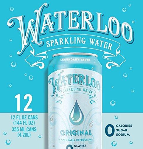 (WATERLOO, SPARKLNG WATER, ORIGINAL, Pack of 2, Size 12/12 FZ - No Artificial Ingredients Gluten Free Vegan Wheat Free Yeast Free)