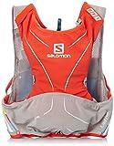 Salomon S-Lab Advanced Skin 3 5 Set Racing Vest (MD/LG) - Red/Aluminum/White