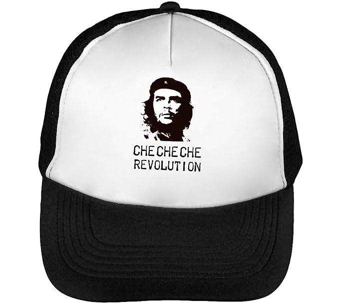 Che Guevara Revolution Black Monochrome Gorras Hombre Snapback Beisbol  Negro Blanco  Amazon.es  Ropa y accesorios eb9b7f6cdb5