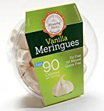 Original Meringue Cookies (Vanilla) • 90 calories per serving, All Natural, Gluten Free, Fat Free, Nut Free, Healthy Snack, Kosher, Parve • by Krunchy Melts