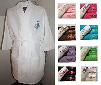 Monogram Robes Monogrammed For Bridesmaids Cheap Canada Him