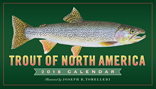 Trout of North America Wall Calendar 2018 cover