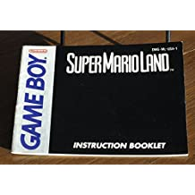Super Mario Land GB Instruction Booklet (Game Boy Manual Only - NO GAME) (Nintendo Game Boy Manual)