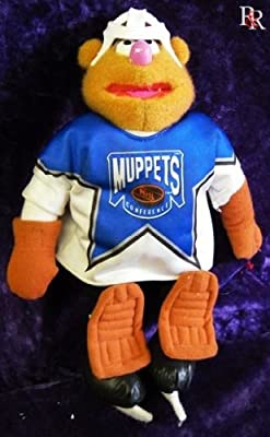 1995 JIM HENSON'S MUPPETS FOZZIE NHL McDONALDS CANADA PLUSH DOLL IN SEALED BAG WITH TAG