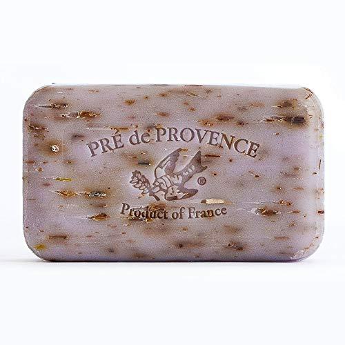 Pre' De Provence Artisanal French Soap Bar Enriched With Shea Butter, Lavender, 150 Gram