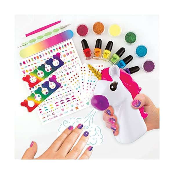 Fashion Angels 12180 Unicorn Dreams Nail Design Super Set Toy (Over 650 Piece), Assorted, Pack of 1 4
